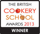 The British Cookery School Awards 2013 Winner